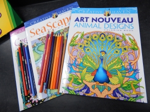 Adult Coloring Group Newport Library