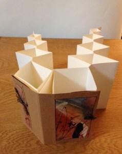 Fishbone Fold Book Newport Paper Book Arts Festival