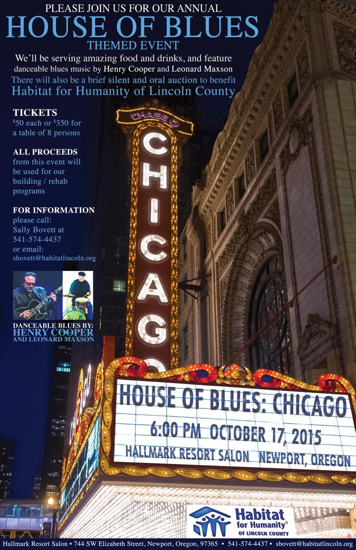 HOB Chicago poster
