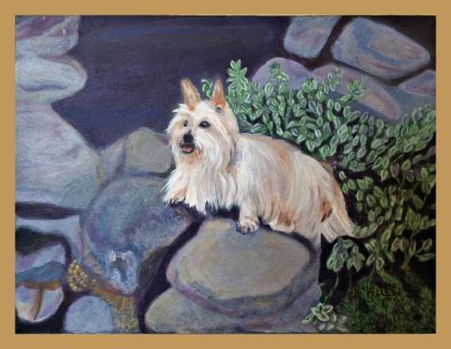 Jospehine Allen's watercolor