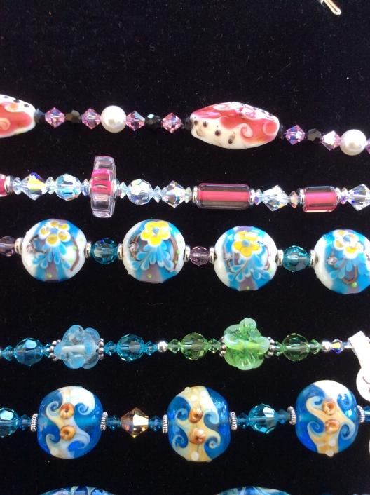 Linda Cline bracelets