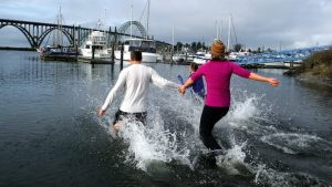 Newport Resolution Run and Polar Bear Plunge