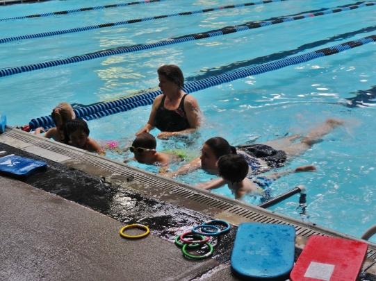 newport swimming pool