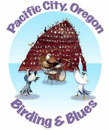 Pacific City Birding and Blues Festival Logo