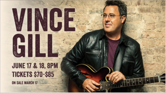 Vince Gill Chinook Winds June 2016