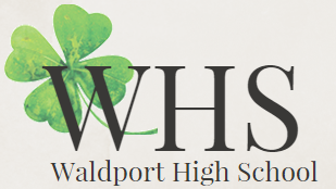 Waldport High School Oregon Logo Shamrock
