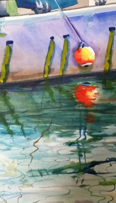 watercolor by Catherine Hingson