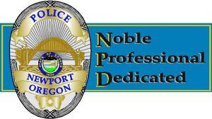 Newport police badge