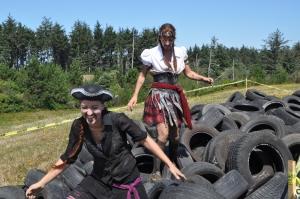pirates on tires (photo by Larry Coonrod)