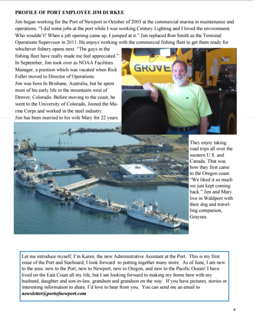 Port of Newport November 2015 Newsletter 4