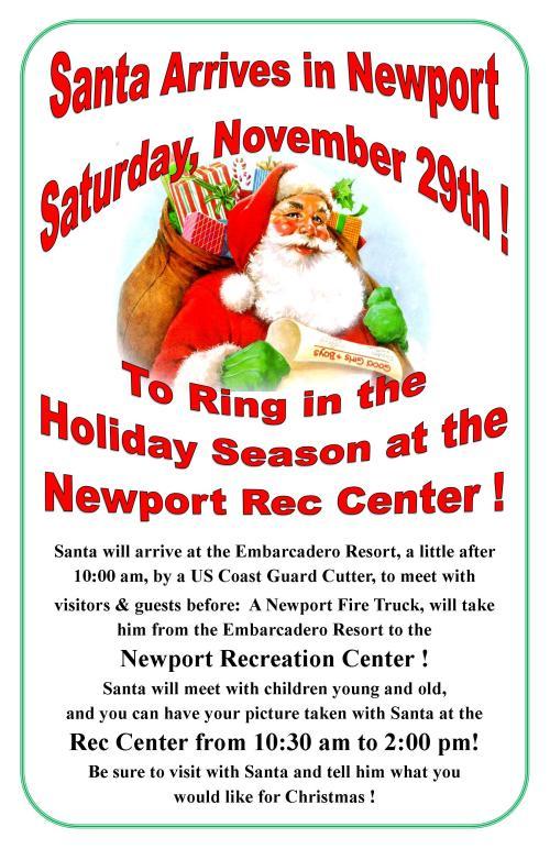 2014 Santa Poster 11x17