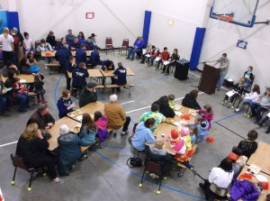 Kid Zone Family Literacy Event