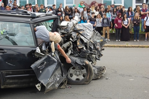 Mock crash DUII