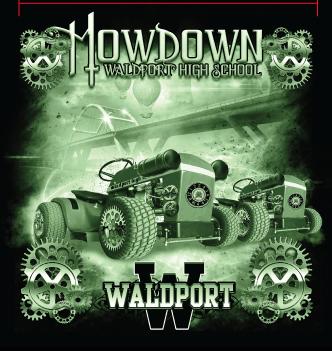 WHS Mowdown Graphic