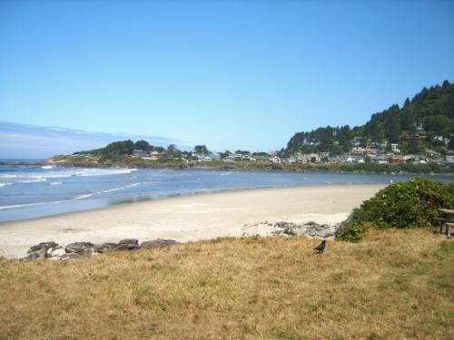 Yachats beach