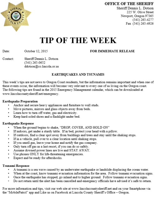 Tip of the Week Oct 12